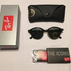 Ray Ban Round Clubmaster Style Model RB 4246